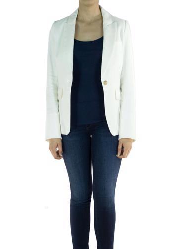 Beyaz Veronica Beard Ceket