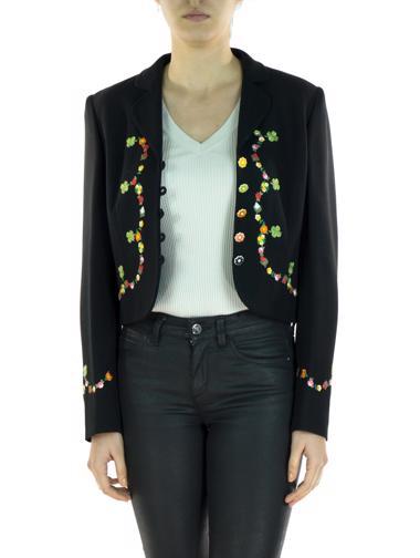 Siyah Moschino Cheapandchic Ceket