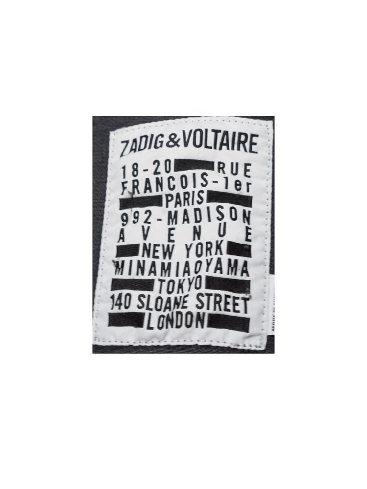 Gri Zadig&Voltaire Jean Ceket