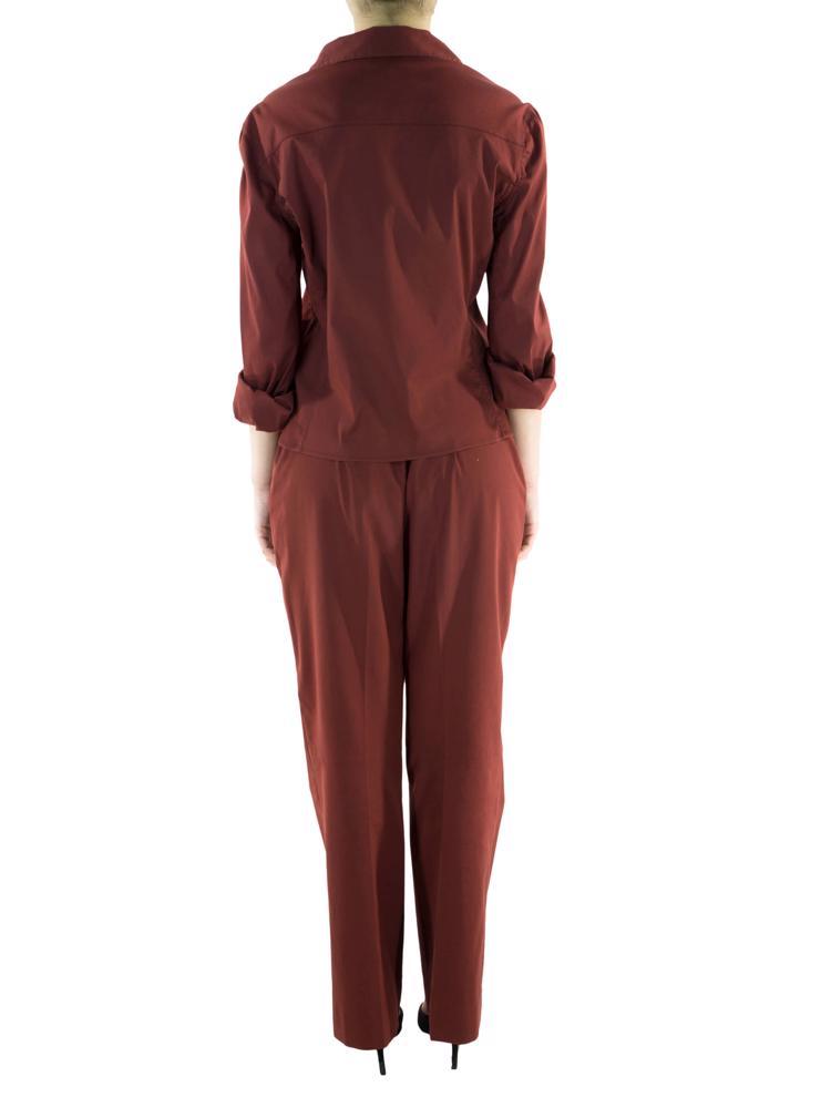 Kırmızı Prada Gömlek - Pantolon