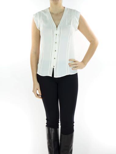 Beyaz Veronica Beard Gömlek