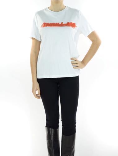 Beyaz Academia T-Shirt
