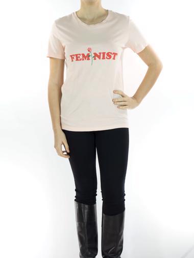 Pembe Whiplash T-Shirt