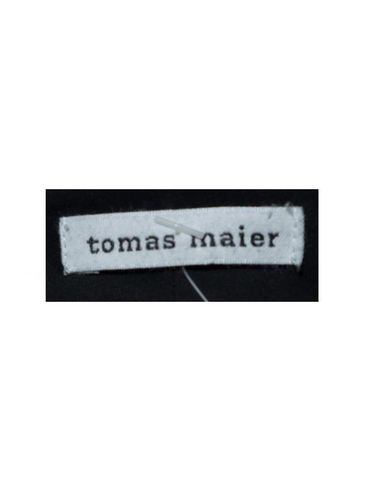 Siyah Tomas Maier Pantolon
