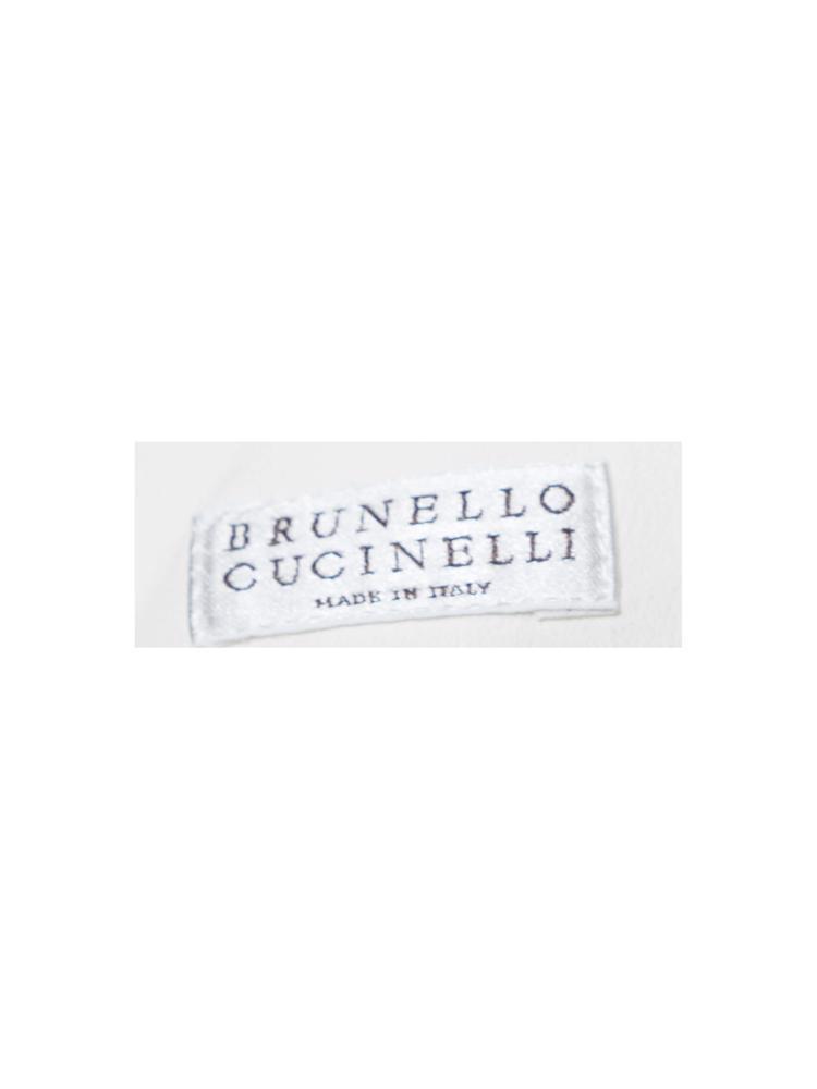 Beyaz Brunello Cucinelli Yelek