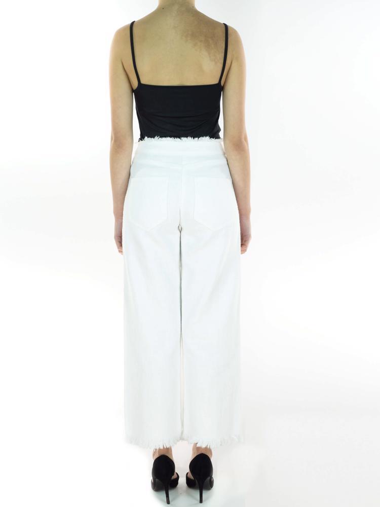 Beyaz Alexander Wang Pantolon