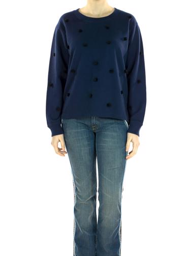 Lacivert J.Crew Sweat-shirt