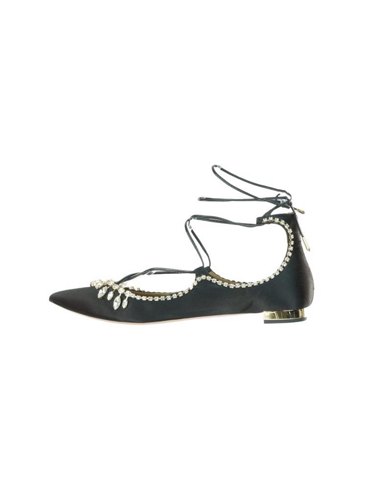 Siyah Aquazzura Ayakkabı