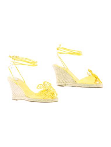 Sarı Celine Ayakkabı