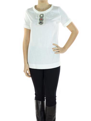 Beyaz Fendi T-Shirt