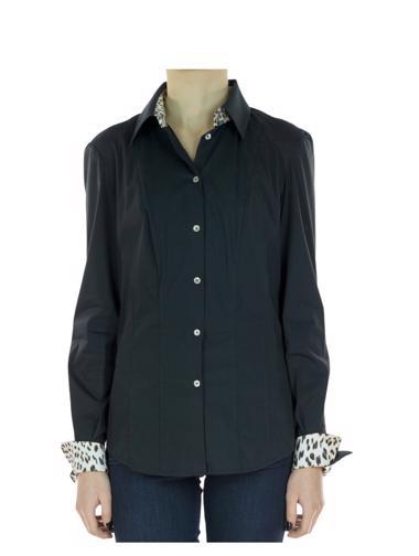 Siyah Roberto Cavalli Gömlek