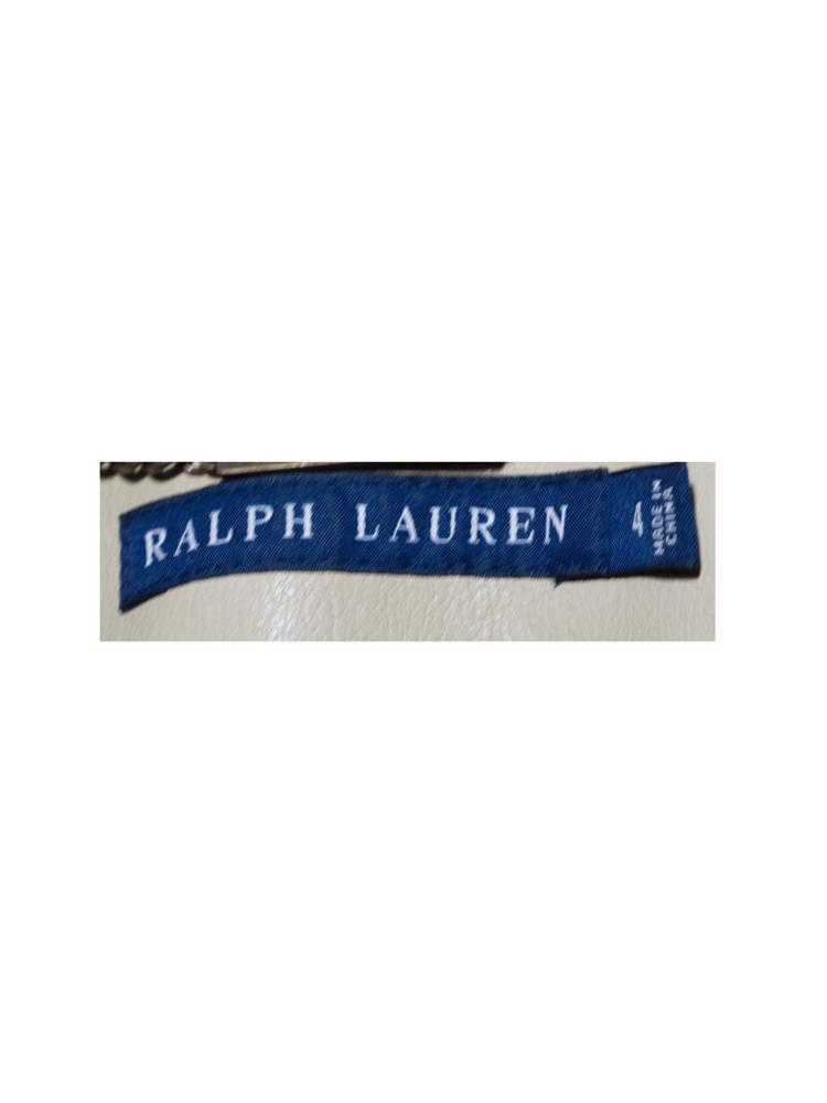 Bej Ralph Lauren Deri Ceket