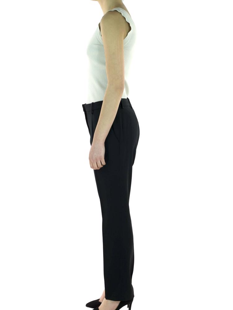 Siyah Vakko C Line Pantolon