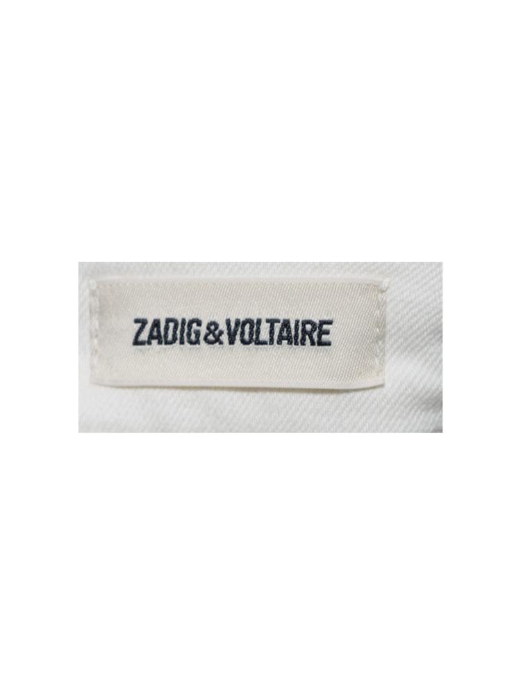 Beyaz Zadig&Voltaire Jean Pantolon