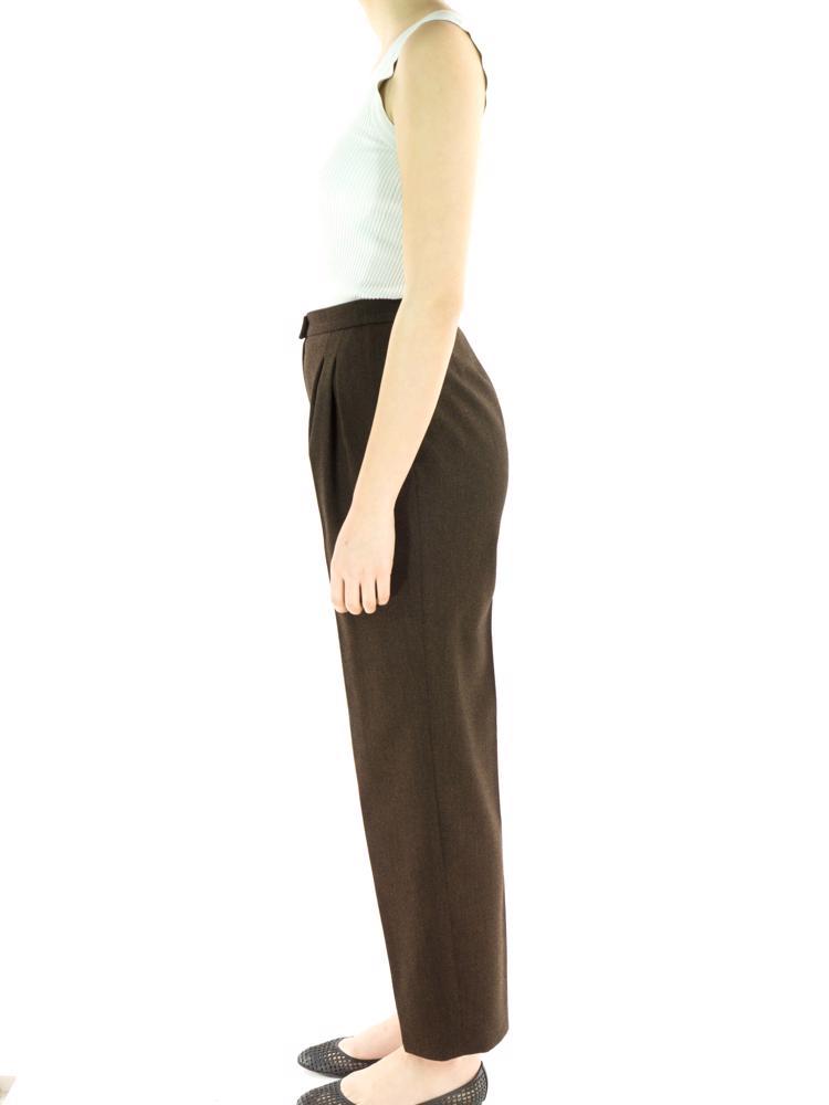 Kahve Chanel Pantolon