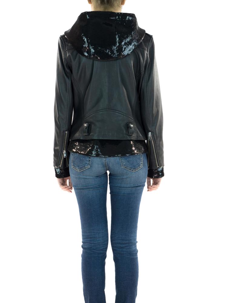 Siyah IRO Deri Ceket