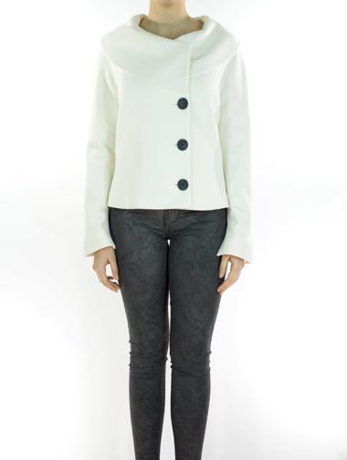Beyaz Maxmara Ceket