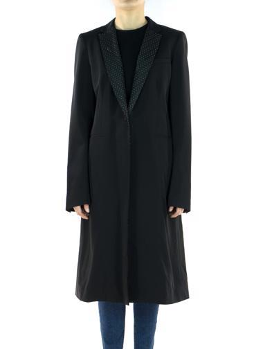 Siyah DKNY Pardösü