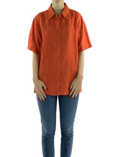 Kırmızı Etro Gömlek