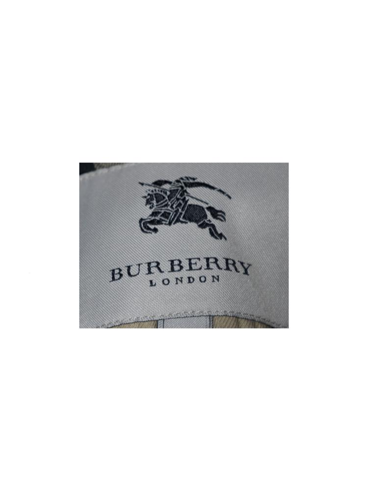 Bej Burberry Pardösü