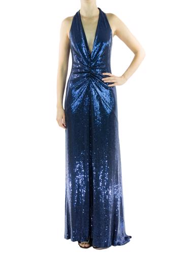 Lacivert Nicole Miller Elbise