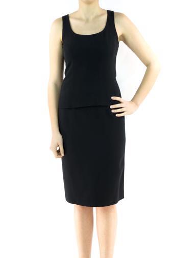 Siyah Calvin Klein Collection Etek - Bluz