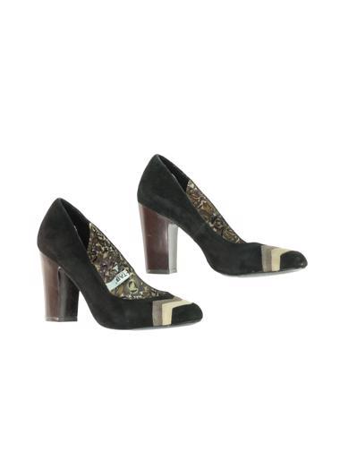 Siyah Missoni Ayakkabı