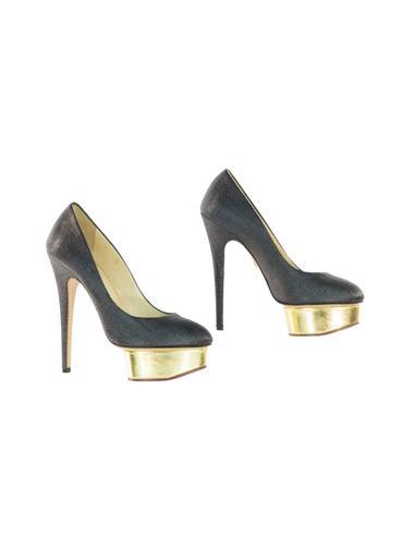 Siyah Charlotte Olympia Ayakkabı