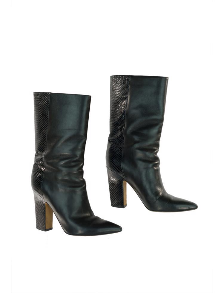 Siyah Valentino Çizme