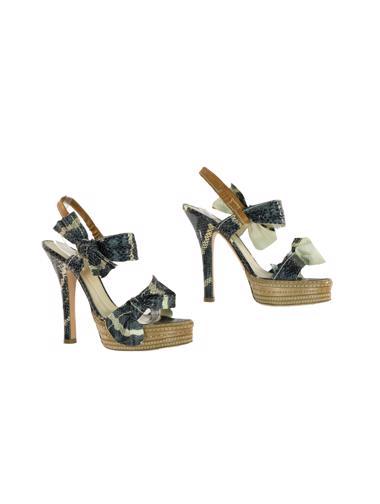 Gri Prada Ayakkabı