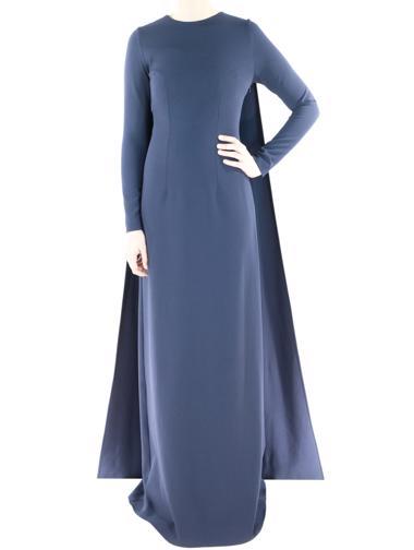 Lacivert Safiyaa Elbise