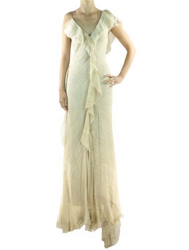Bej Donna Karan Elbise