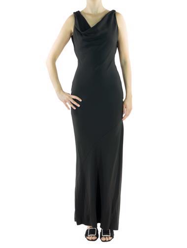 Siyah Christian Dior Elbise
