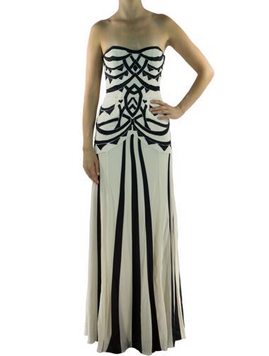 Beyaz Temperley Elbise