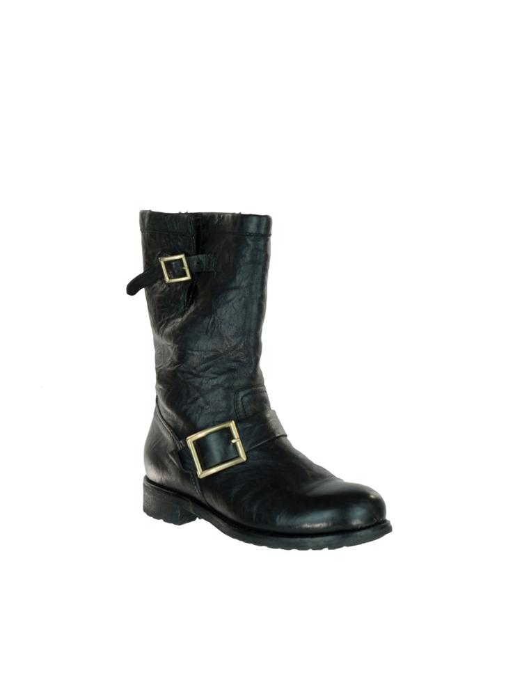 Siyah Jimmy Choo Çizme