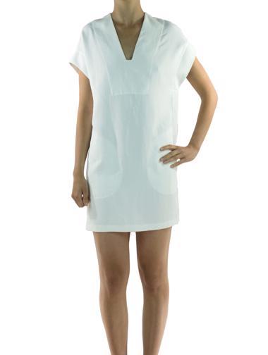 Beyaz Vince Elbise / Tunik