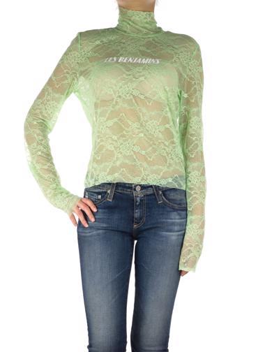 Yeşil Les Benjamins Bluz