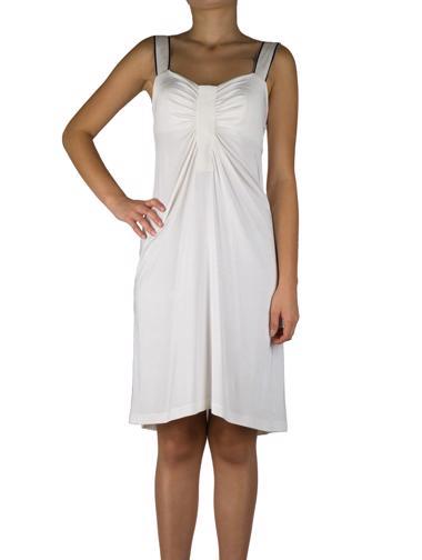 Beyaz Alberta Ferretti Elbise