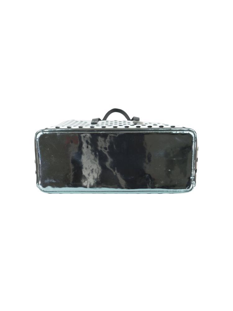 Gümüş MCQ Alexander McQueen Çanta