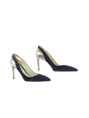 Lacivert Prada Ayakkabı