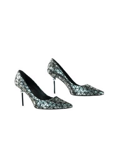 Gümüş Roger Vivier Ayakkabı