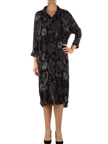 Siyah Rumisu Elbise