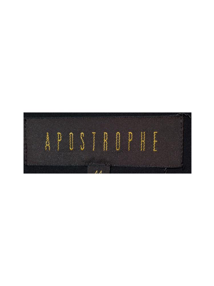 Siyah Apostrophe Mont