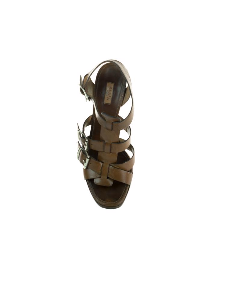 Kahve Alaia Ayakkabı