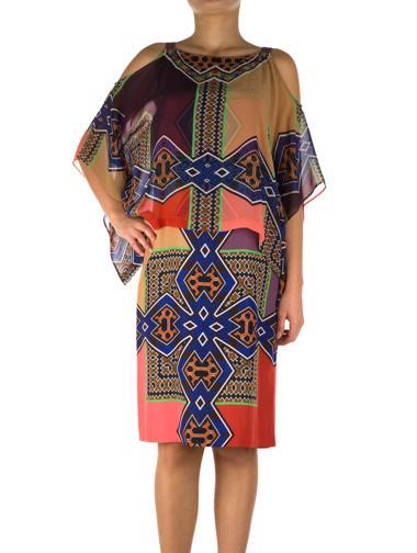 Çok_Renkli Etro Elbise