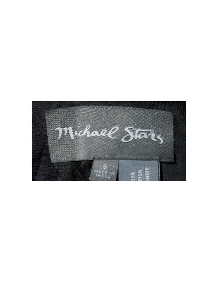 Siyah Michael Stars Yelek
