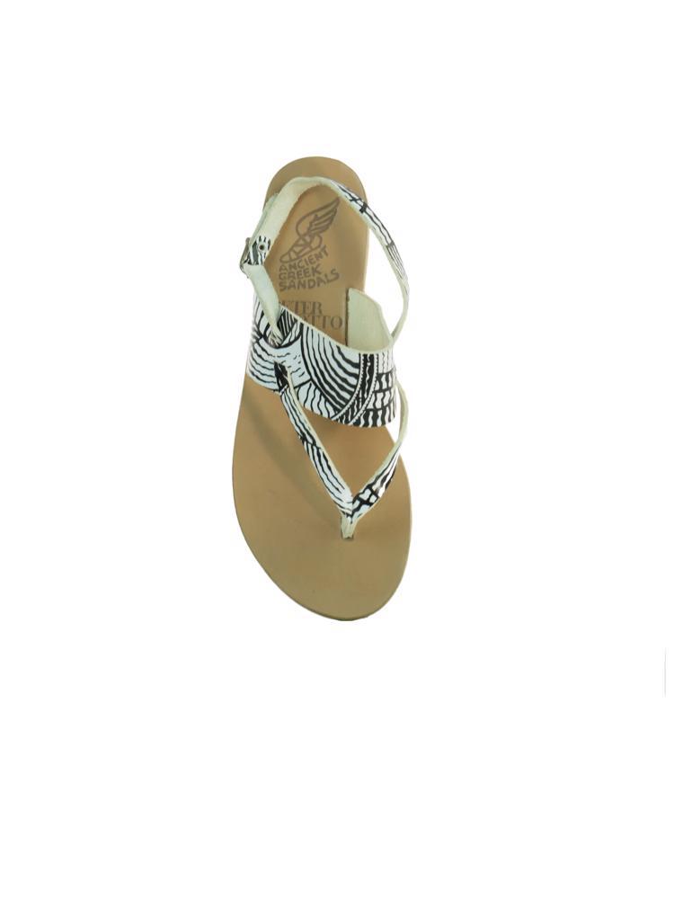 Beyaz Ancient Greek Ayakkabı