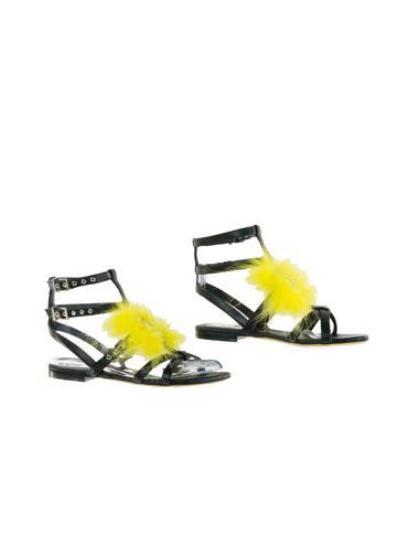 Siyah Fendi Ayakkabı