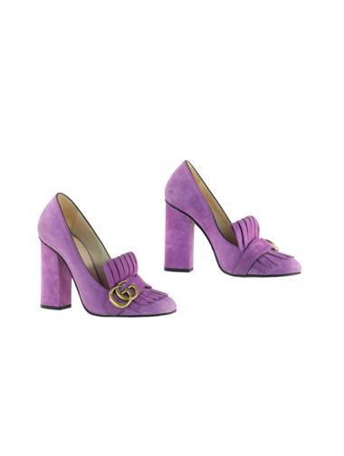 Mor Gucci Ayakkabı