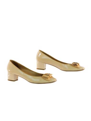 Bej Salvatore Ferragamo Ayakkabı
